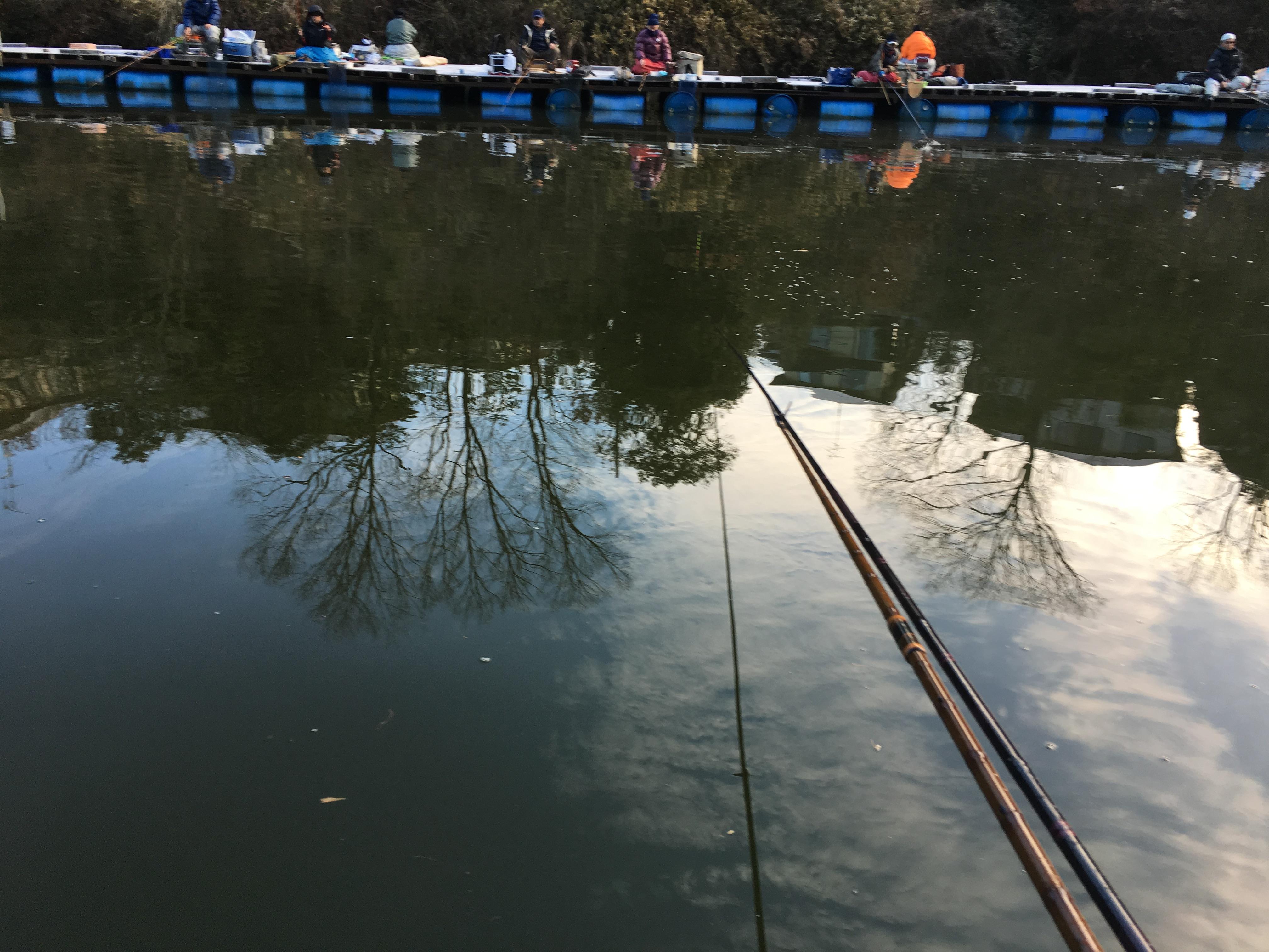 天神釣り池(2016.01.11)